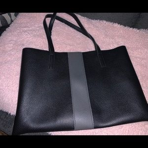 Vince Camuto Black Leather Tote
